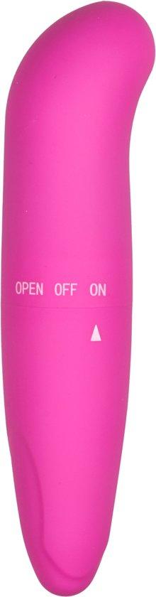 EasyToys - Mini G-spot vibrator, geniet van een waanzinnig hoogtepunt, geniet van de zachte structuur en de hevige vibraties - roze