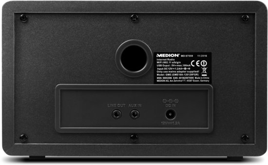 MEDION® LIFE E85059 WiFi Internet Radio (zwart)
