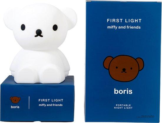 Mr Maria boris Eerste Licht Nachtlamp - oplaadbaar