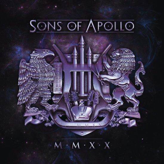 CD cover van MMXX van Sons of Apollo