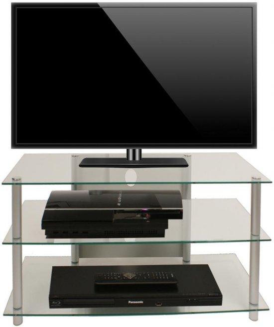 Onwijs bol.com | HIFI TV meubel kast Sindas helder glas LR-59