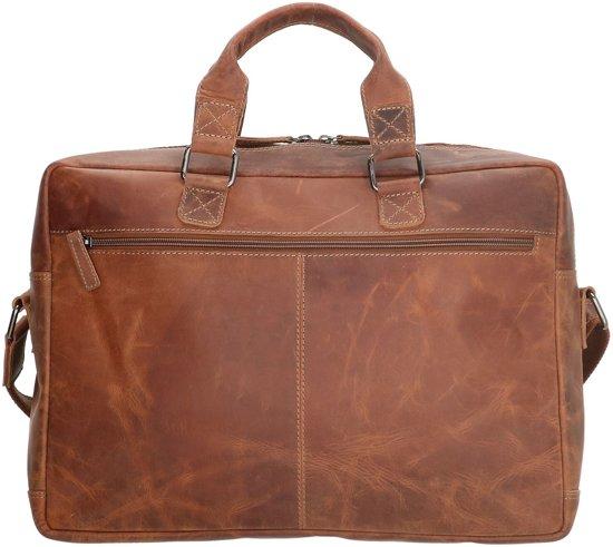 Leren Longview Laptoptas 15 West Donkerbruin Old Inch qB4OwagnO