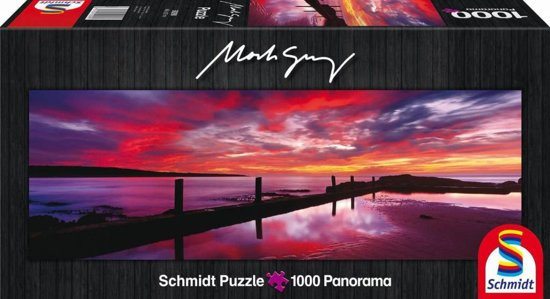 Schmidt Puzzel - Eden Sea Baths, New South Wales - Panorama - 1000 Stukjes