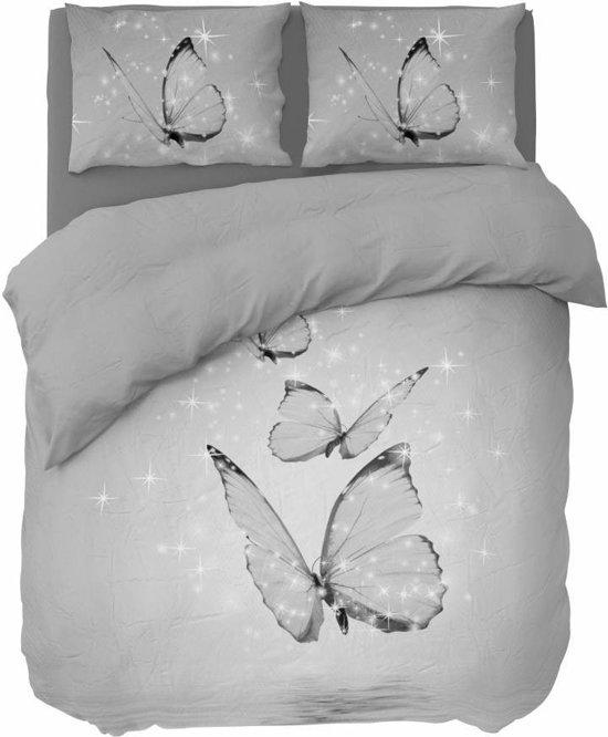 Nightlife Concept Dekbedovertrek Butterfly Grijs