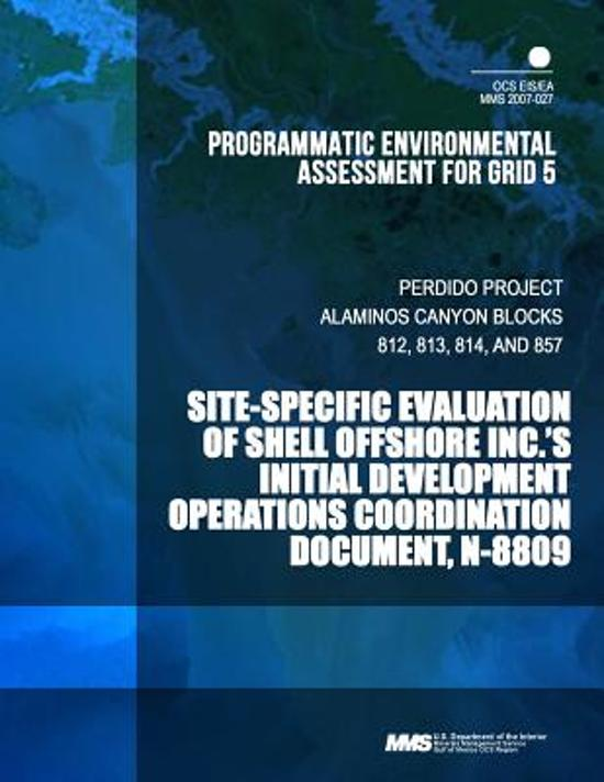Programatic Environmental Assessment for Grid 5