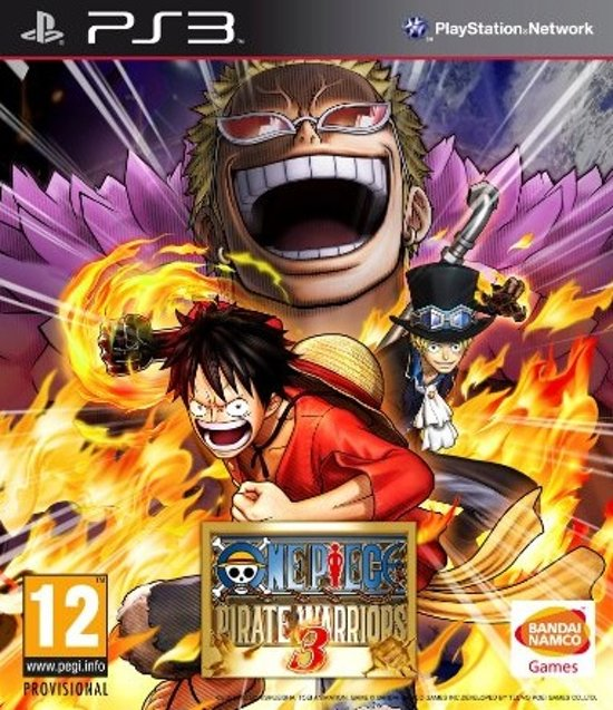 ONE PIECE PIRATE WARRIORS 3 - PS3