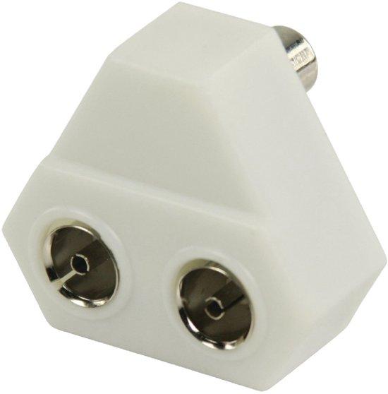 bol.com   Newtronics.nl Coax T-splitter coax mannelijk - 2x coax ...