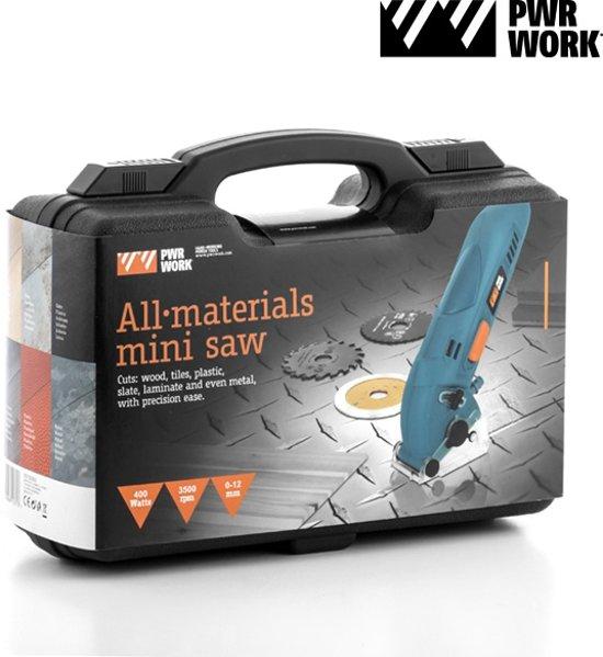 Compacte Cirkelzaag All Materials PWR Works