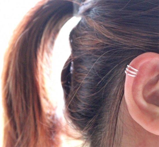 Triple earcuff