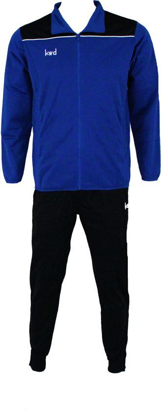 KWD Trainingspak Pantera - Kobaltblauw/zwart/wit - Maat L