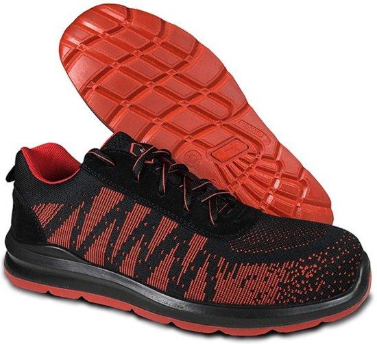 Werkschoen / sneaker Indra Red S1P maat 41