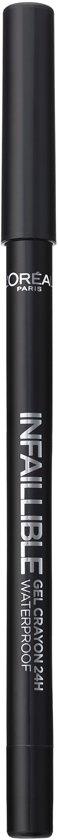 L'Oréal Paris Infallible Gel Crayon 24H Eyeliner - 01 Back to Black