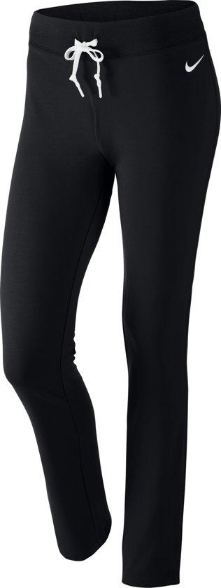 Nike Sportswear Pant OH Jersey Sportbroek Dames - Black/White/(White)