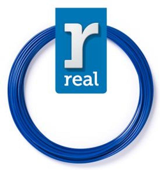 10m High-quality PLA 3D-pen Filament van Real Filament kleur blauw