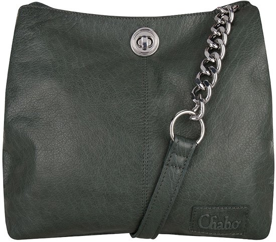 bb493e17eca bol.com | Chabo Bags Chain Bag Small - Green