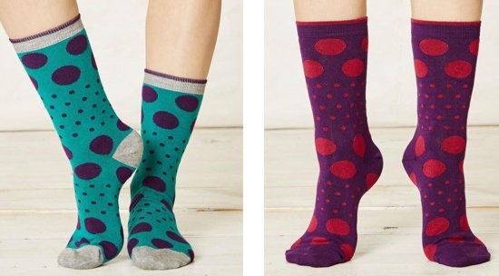 ef046da16d7a0d Bamboe dames sokken set van 2 paar - Paolini - damessokken maat 37 - 41