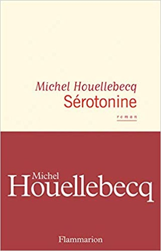 Boek cover Sérotonine van Houellebecq, Michel (Paperback)
