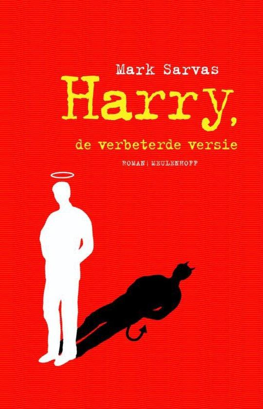 Cover van het boek 'Harry een antiheld' van M. Sarvas