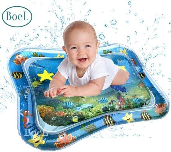 Afbeelding van Baby Splash Waterspeelmat - speelkleed aquamat - watermat - Babytrainer - Speelmat - Kraamcadeau - Babyshower  NU OOK IN SCHILPAD UITVOERING VERKRIJGBAAR! speelgoed