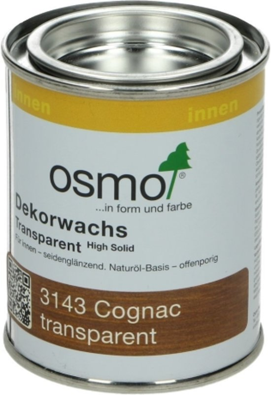 OSMO Decorwas TR3143 Cognac 0,125L