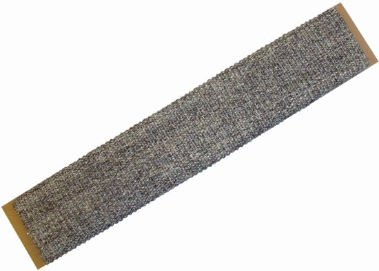 Nobby krabplank jabo de luxe bruin 10 x 50 cm - 1 st