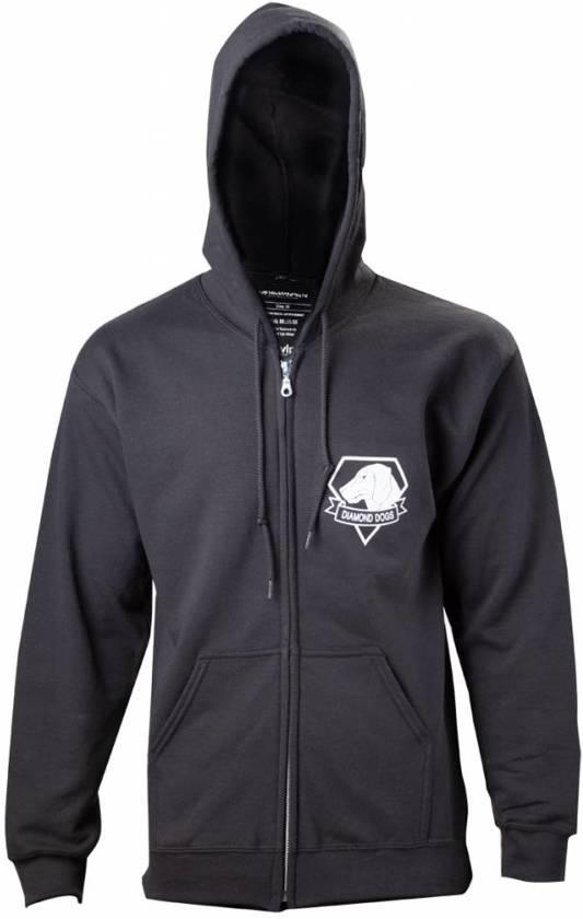 Merchandising METAL GEAR SOLID V - Black Diamong Dog Zipper Hoodies (XXL)