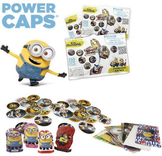 10 STUKS | Minions power caps fun pack in blindbag (Traktatie / Uitdeelcadeautjes)
