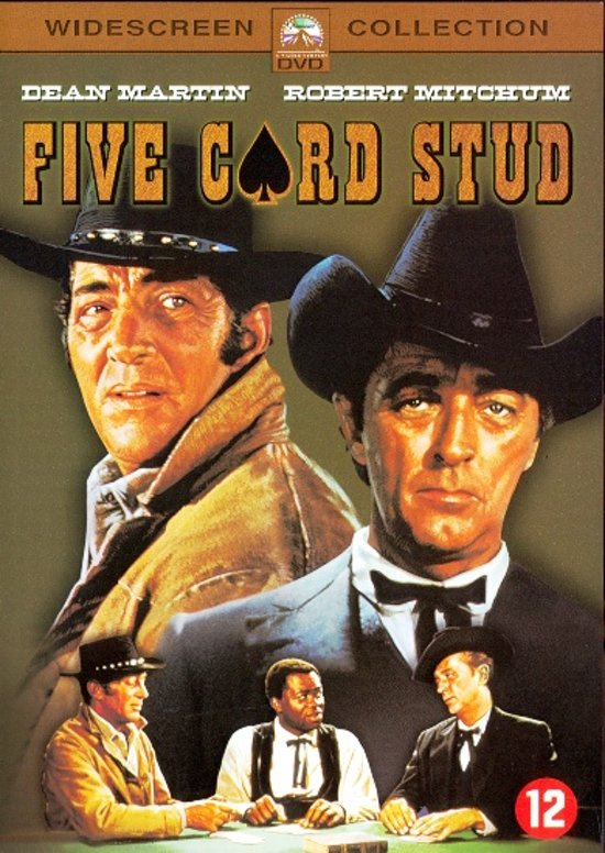 Cover van de film 'Five Card Stud'