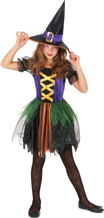 Kleine heksen kostuum voor meisjes  - Verkleedkleding - 152/158