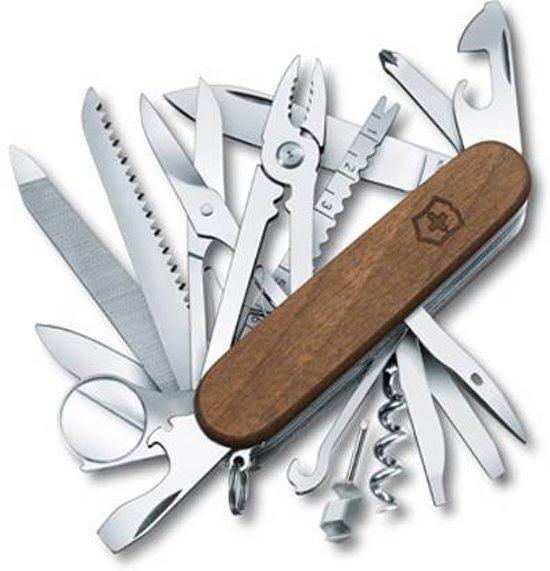 Victorinox SwissChamp Wood Zakmes - 29 functies - hout