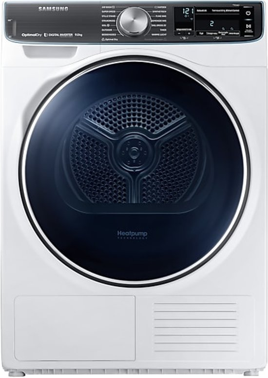 Samsung DV9BN8288AW wasdroger Vrijstaand Voorbelading Wit 9 kg A+++