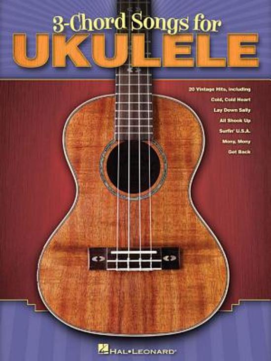 Bol 3 Chord Songs For Ukulele Hal Leonard 9781617803727
