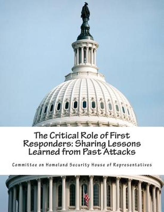 The Critical Role of First Responders