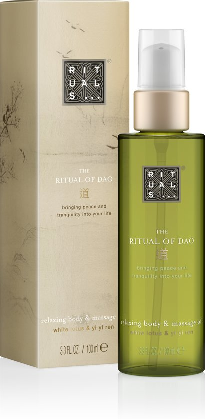 Voorkeur bol.com | RITUALS The Ritual of Dao Body & Massage Oil - 100ml  @WQ-02