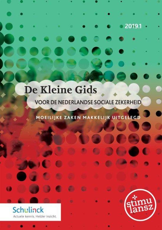 Boek cover De Kleine Gids voor de Nederlandse sociale zekerheid 2019.1 van  (Onbekend)