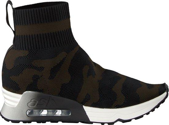 697e1dcdb3c bol.com | Ash Dames Sneakers Lulu Camo - Groen - Maat 39
