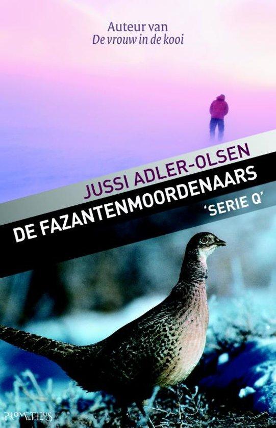 Boek cover Serie Q 2 - De fazantenmoordenaars van Jussi Adler-Olsen (Paperback)