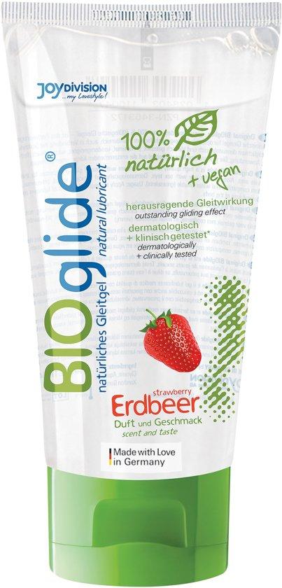 BIOglide Glijmiddel Aardbei - 80 ml