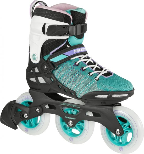 d65cd94db66 bol.com | Powerslide Inline Skates Phuzion Wraptor Dames Groen Maat 38