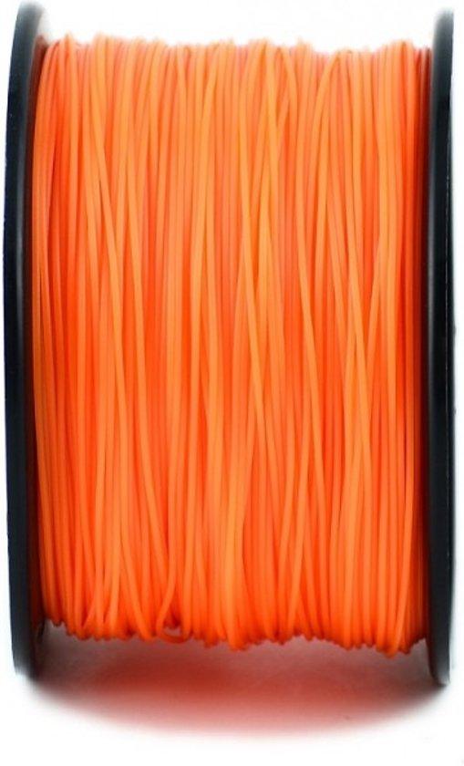 1.75mm oranje PLA filament