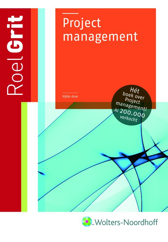 Boek cover Projectmanagement van R. Grit (Paperback)