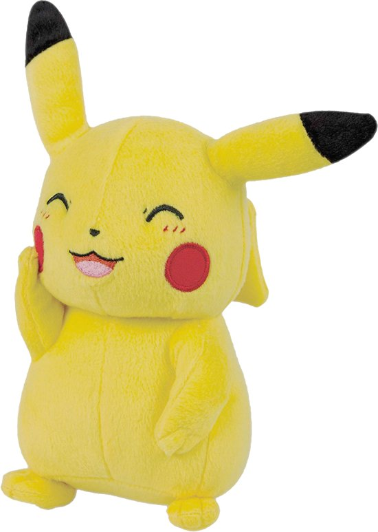 Pokémon Pikachu Pluche (20 cm)