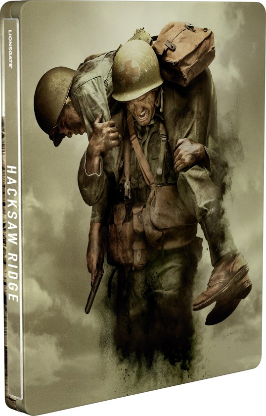 Hacksaw Ridge (Steelbook) (Blu-ray)