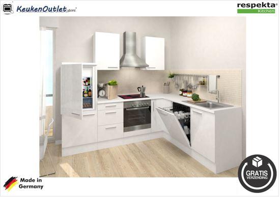 Keuken Wandkast 8 : Bol respekta hoek keuken everton compleet incl apparatuur