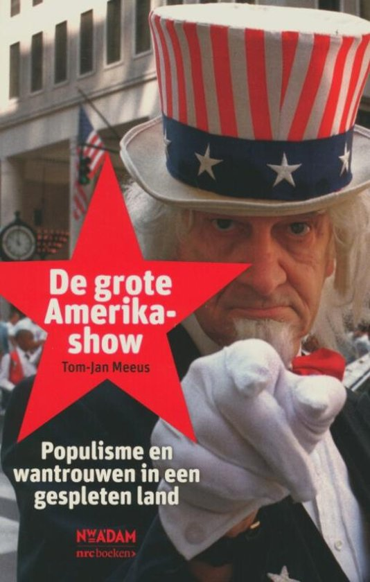 Boek cover De grote Amerika- show van Tom-Jan Meeus (Paperback)