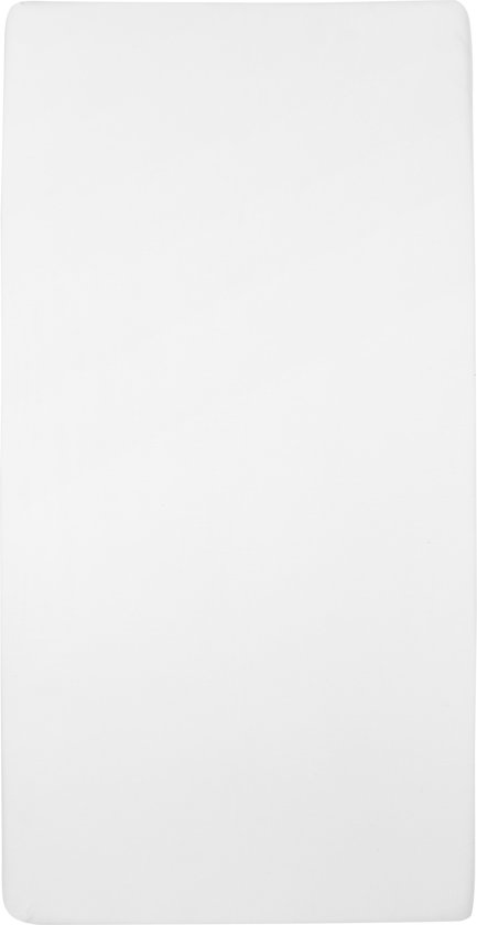 Meyco jersey hoeslaken 2-pack - wit 40x80/90