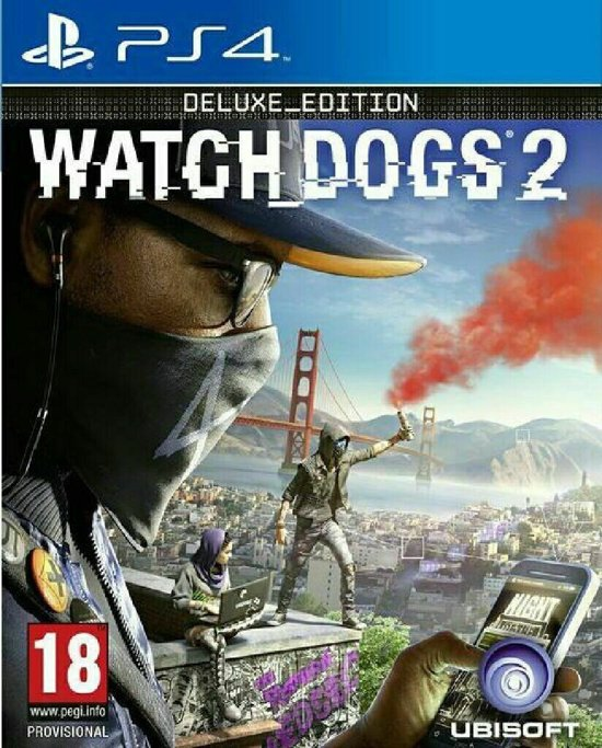 Watch Dogs 2 - Deluxe Edition PlayStation 4