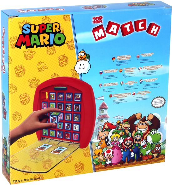 Top Trumps Match Super Mario - Kubusspel