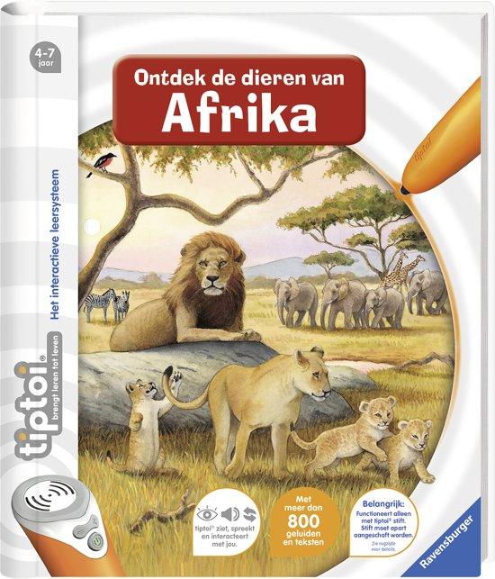 Tiptoi - Ontdek de dieren in Afrika