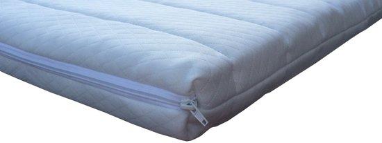 Slaaploods Split Topmatras Basic - Koudschuim - Dikte: 8 cm